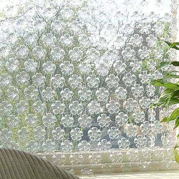 water bottle curtains