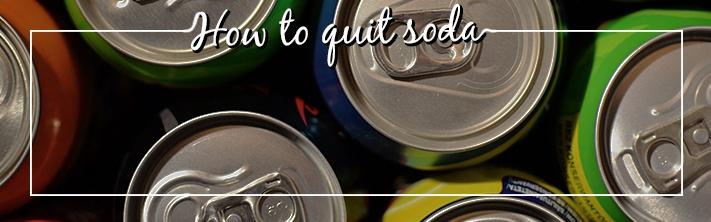 Quitting Soda