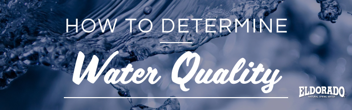 How to determine water quality