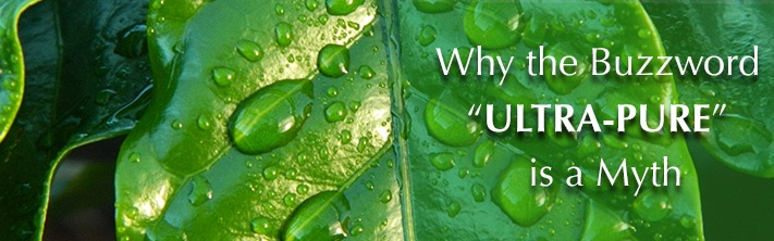 what is ultra-pure water?