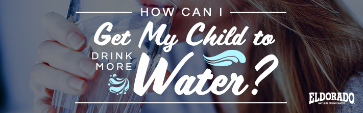 Getting children drinking more water