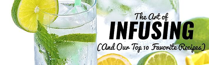Water infusion recipes