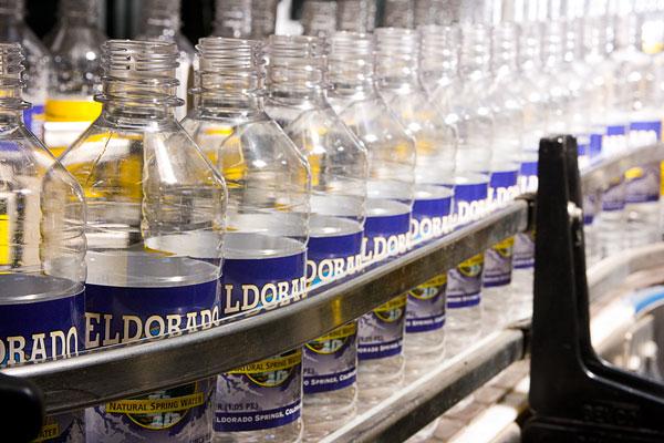 Eldorado Water factory production line