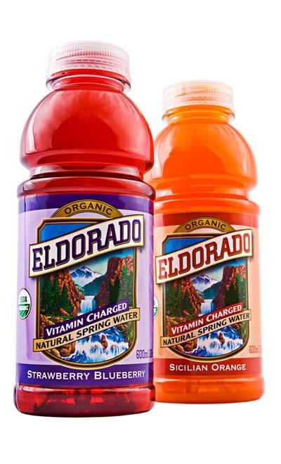 Eldorado Organic Vitamin Spring Water