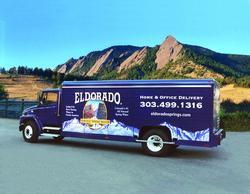 Eldorado Water Delivery Truck