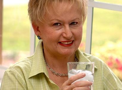 Lady Enjoying Eldorado Water