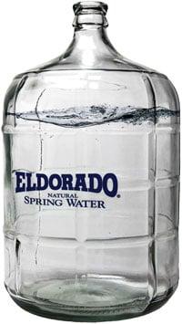 Glass Eldorado Water Bottle