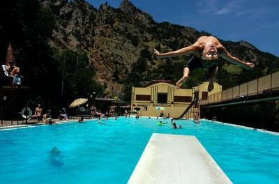 Eldorado Water Pool credit: Denver Post