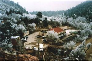 Snow-covered photo of Eldorado Artesian Springs, Inc.