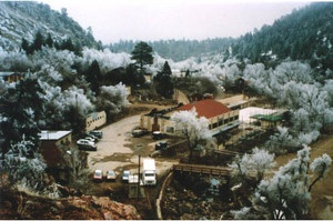 Snow-covered photo of Eldorado Artesian Springs, Inc.